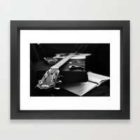 The V Sessions Framed Art Print