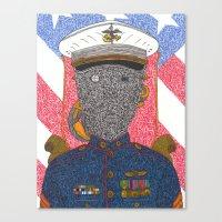 US Marine Corp. Canvas Print