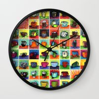 The Daily Coffee Poster Wall Clock