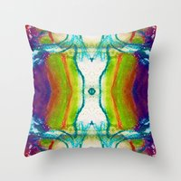 Monadic Determination Throw Pillow