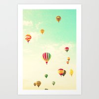Mass Ascension Art Print