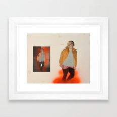 Self with Other Framed Art Print