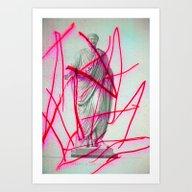 Strike 19 Art Print