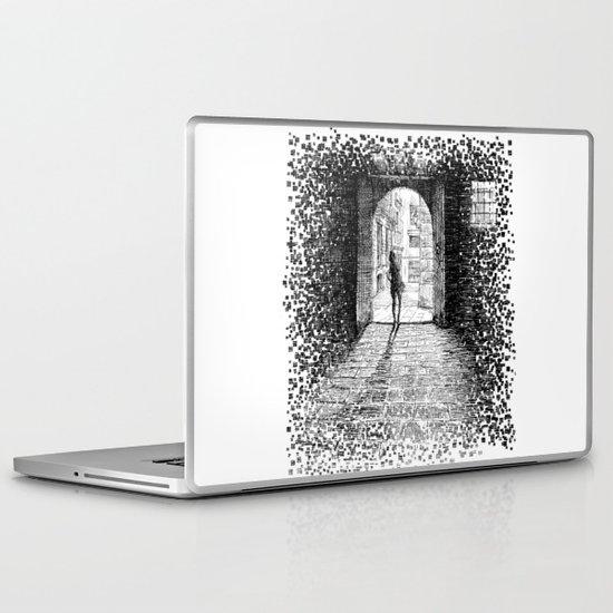 Light - Black ink Laptop & iPad Skin
