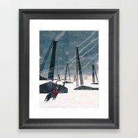 Snow Queen - Lapland Framed Art Print