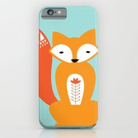 iPhone & iPod Case featuring Ferdinand the Fox by Michelle Reaney