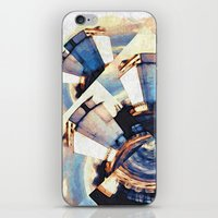 Tiny Winy Planet Collage iPhone & iPod Skin