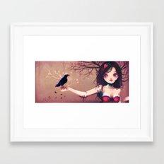 Le protocole amoureux. Framed Art Print
