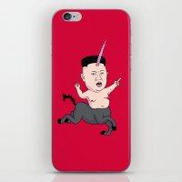 Kim Jong Unicorn iPhone & iPod Skin