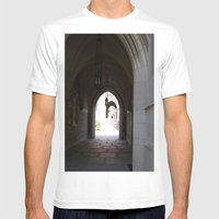 Archway Mens Fitted Tee White SMALL