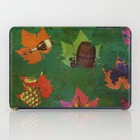 Autumn Grapes And Wine iPad Case