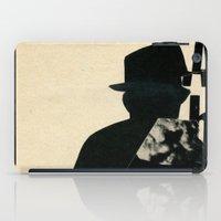 Mystery Man iPad Case