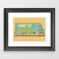 Hangout Music Fest 2014 … Framed Art Print