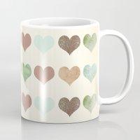 DG HEARTS - RUSTIC Mug