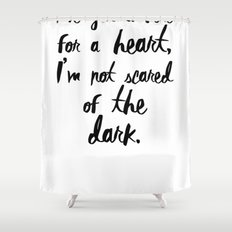 One Direction // Drag me down lyrics Shower Curtain