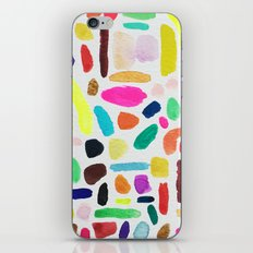 Colorful Blobs iPhone & iPod Skin