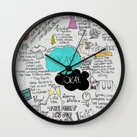 The Fault in Our Stars- John Green Wall Clock