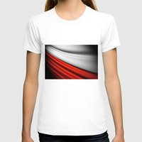 Flag Of Poland Womens Fitted Tee White SMALL