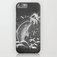 iPhone & iPod Case featuring Narwhal Skewer by victor calahan