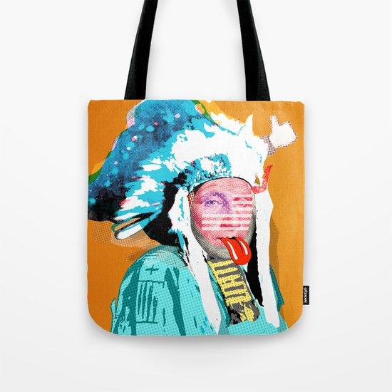 Indian Pop 95 Tote Bag