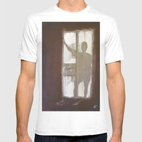 Shadowman Mens Fitted Tee White SMALL