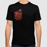 Hunter Mens Fitted Tee Black SMALL