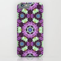 Kaleidoscope - Floral Fa… iPhone 6 Slim Case