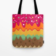 Tote Bag featuring Delight by Kakel