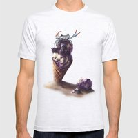 Ice Crab Mens Fitted Tee Ash Grey SMALL