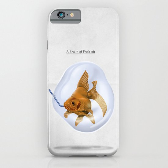 A Breath of Fresh Air iPhone & iPod Case