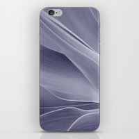 Purple Agave Attenuata iPhone & iPod Skin