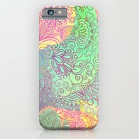 VINTAGE VECTOR FLOWERS 3 - for iphone iPhone 6 Slim Case
