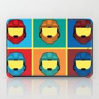 Warhol's Red vs Blue iPad Case