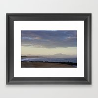 Morning Horizon  Framed Art Print