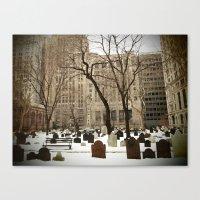 American Stock Exchange Canvas Print