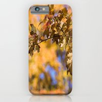 Orange Backdrop iPhone 6 Slim Case