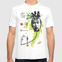 Welcome To Absurdistan/ … Mens Fitted Tee White SMALL