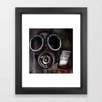 Nukes Ahoy! Framed Art Print