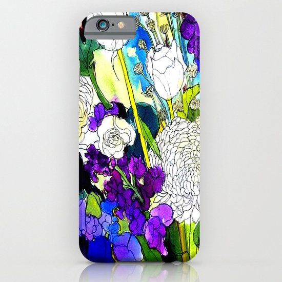 forest flowers 1 iPhone & iPod Case