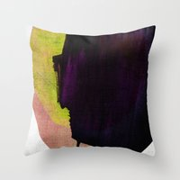 Color Studies 3 Throw Pillow