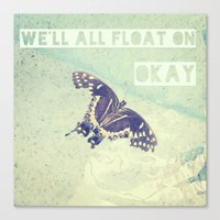 Butterfly Inspiration Canvas Print