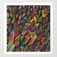 Fall Canopy Art Print