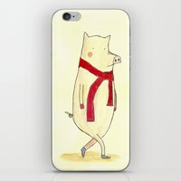 Mr. Red iPhone & iPod Skin