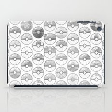 Pokemon,Pokeball Gray iPad Case