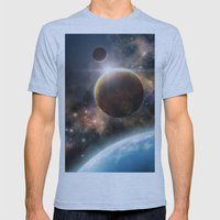 Welcome to the Space Mens Fitted Tee Athletic Blue SMALL