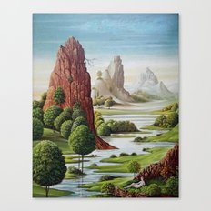 Valley Water Canvas Print