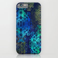 Ikat Stars: Blue Multi Slim Case iPhone 6s