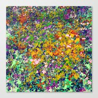 Yardage Canvas Print