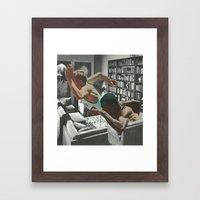 Study Marathon Framed Art Print