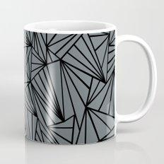 Ab Fan Grey and Black Mug